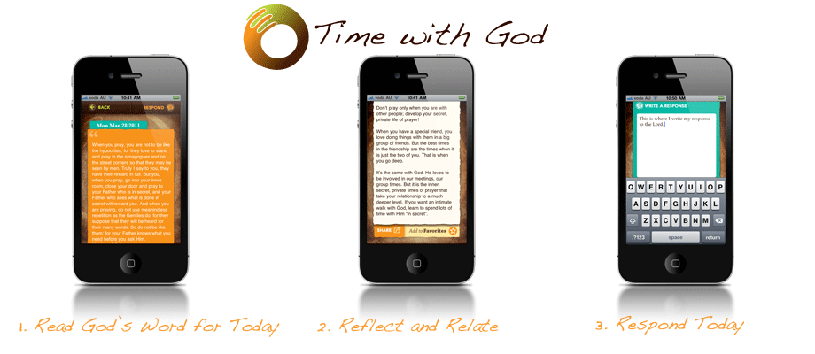 Time with God - 3 steps